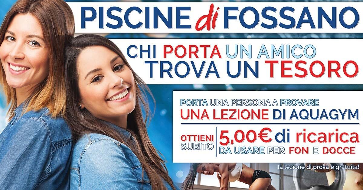 Promo Fitness Piscina Fossano Cuneo