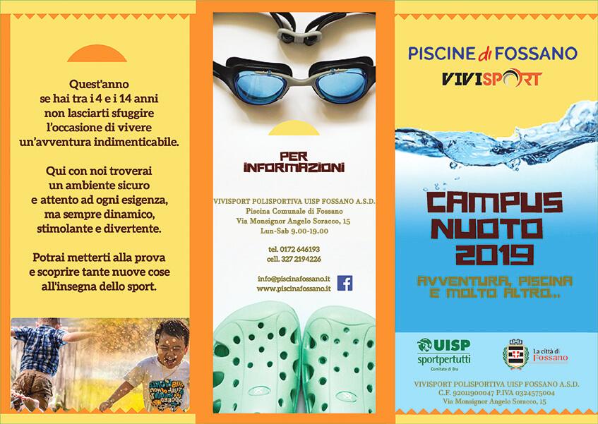 Campus Estivo 2019 Piscina Fossano