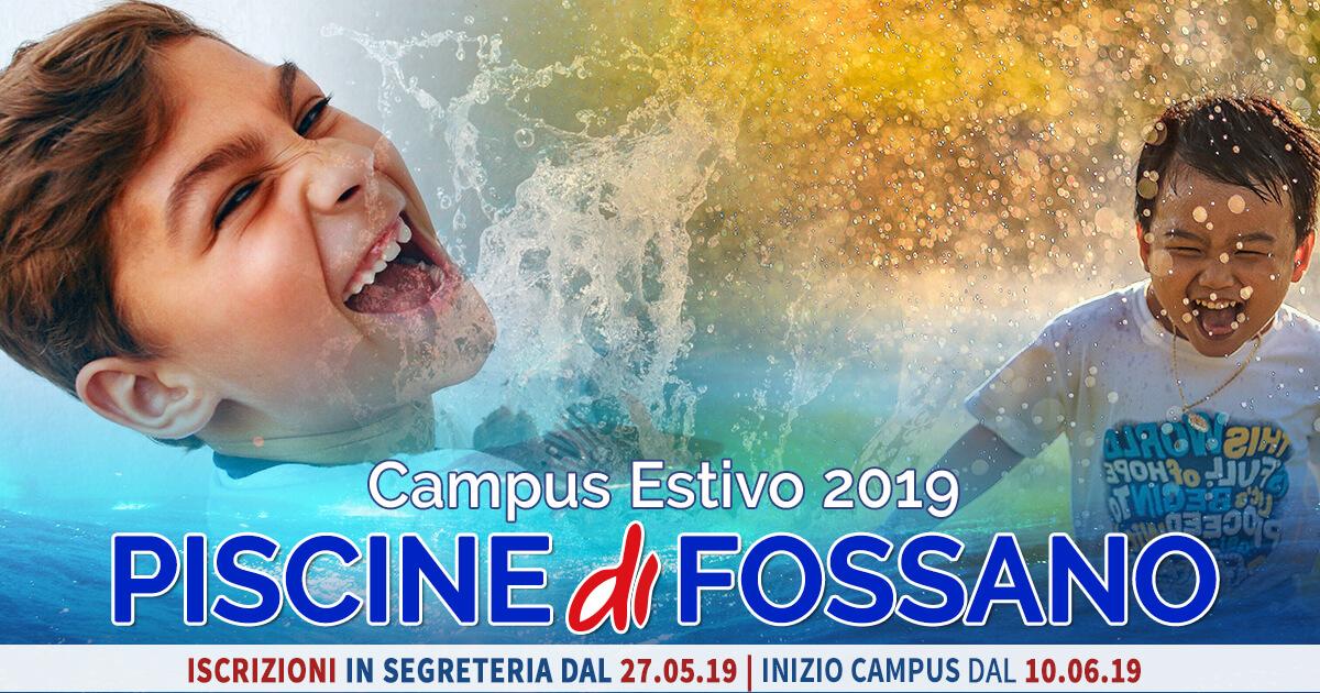 Campus Nuoto 2019 - Piscina Fossano